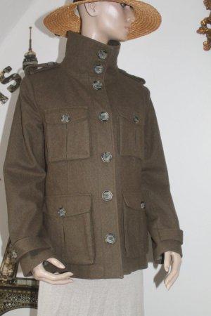 warme Jacke * Herbst / Winter * Military * tolle Details * kaum getragen *