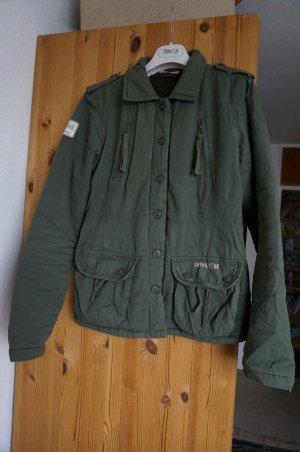 """Warme Jacke mit Tddyfell-Futter. Military Stil. Gr. 36-38 """"HOOCH"""""""