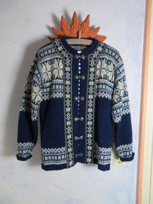 Vintage Norwegian Cardigan multicolored new wool