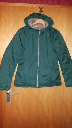 Authentic Chaqueta beige-verde bosque