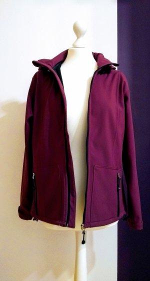 HS Navigazione Chaqueta con capucha violeta Poliéster