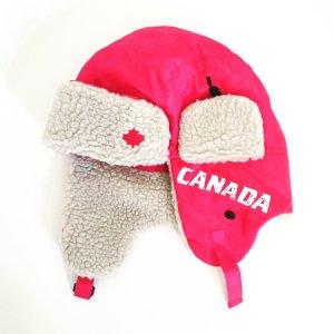 warme rote mütze .....