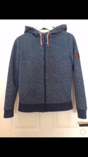 Roxy Fleece Jackets dark blue-white