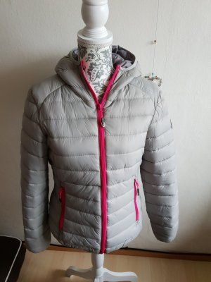 Geographical Norway Veste gris clair-rose