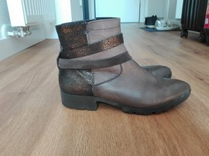 Warme Stiefeletten in braun