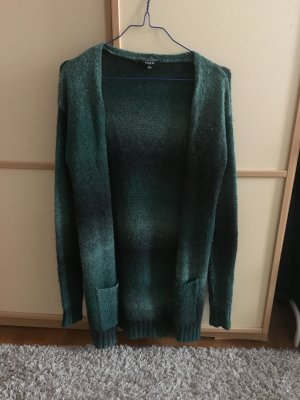 Warme Strickjacke in Grün