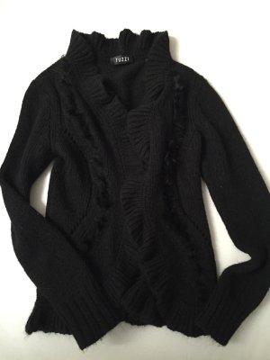 Tuzzi nero Giacca di pelliccia nero