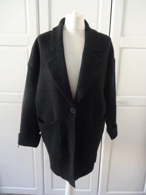 Tkmaxx Knitted Cardigan black mixture fibre