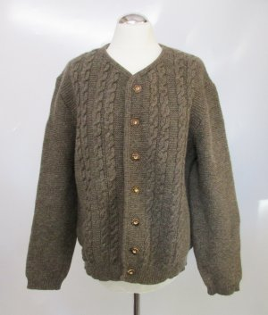 Coarse Knitted Jacket multicolored new wool
