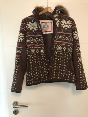 Warme Sweatshirtjacke