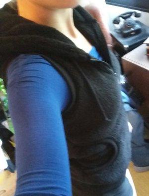 Stitch & Soul Capuchon vest zwart