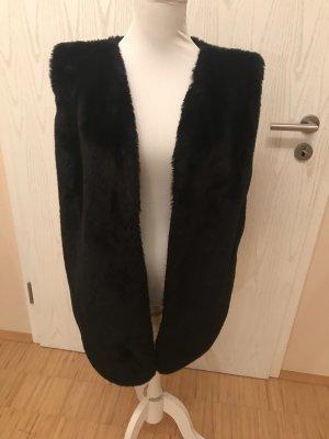 Bontgilet zwart