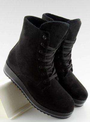 Warme Winter Boots aus Wildleder Stiefel Stiefeletten Schnürstiefel H908 Schnürschuhe Blogger Schuhe 36 37 38 39 40 41