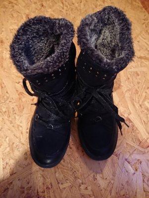 Venice Botas de nieve negro