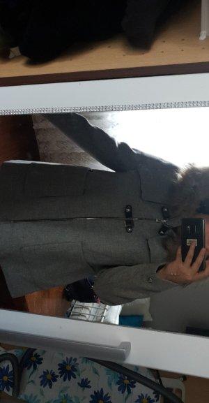 Zara Manteau d'hiver gris clair