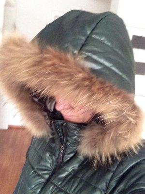Warme Winterjacke Jacke Echtpelz Echt Fell Gr 36