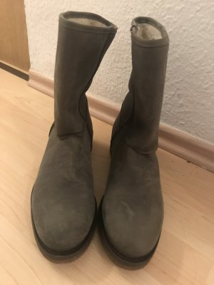 Warme Winterstiefeletten