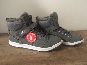 VTY Sneaker con strappi grigio chiaro