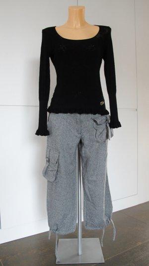 Warme Wollhose von Ana Alcazar mit Fischgrätmuster Gr. S