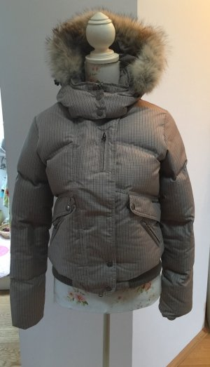 Warme Woolrich Winter Jacke Gr. M