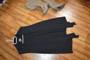 H&M Divided Long Knitted Vest black