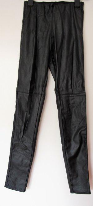 Warmehosen Winterhosen Leggings schwarz
