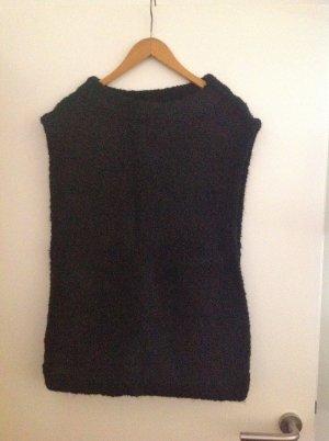 H&M Fine Knitted Cardigan black alpaca wool