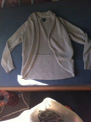 Warmer cardigan H&M Größe M beige