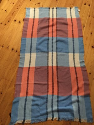 Reserved Wollen sjaal azuur