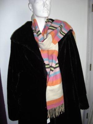 Bufanda de flecos multicolor Poliéster