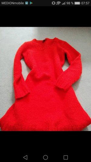 Warmer Langer Wollpulli