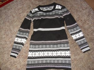 warmer Longpullover oder Minikleid Gr. 40