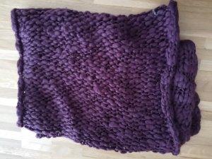 Bufanda tubo violeta oscuro