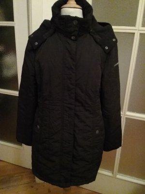 Warmer Mantel mit  abnehmbarer Kapuze