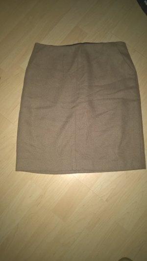 warmer Midirock mit Taschen