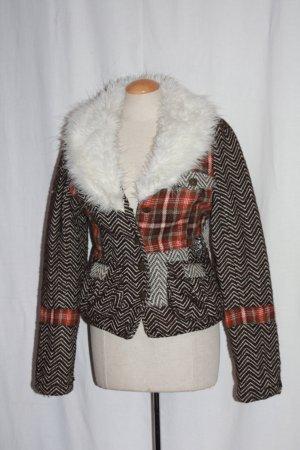 warmer ONLY Blazer Pelzkragen Steppfutter 34