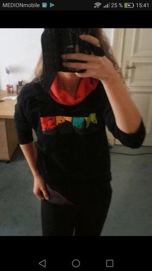 Jersey con capucha multicolor