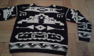 warmer Pullover Boho Aztekenmuster