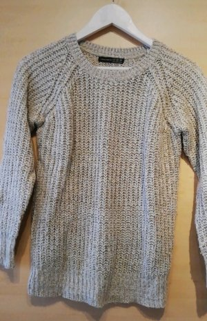 warmer Pullover in beige