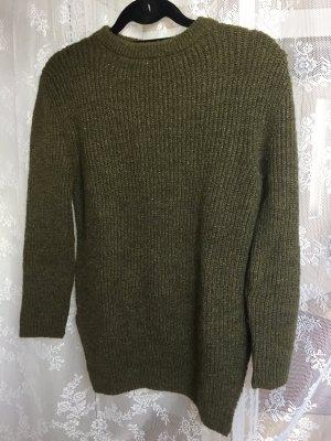 warmer Pullover mit Glitzer