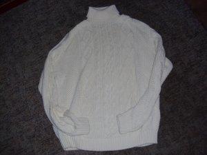 Maglione bianco Cotone