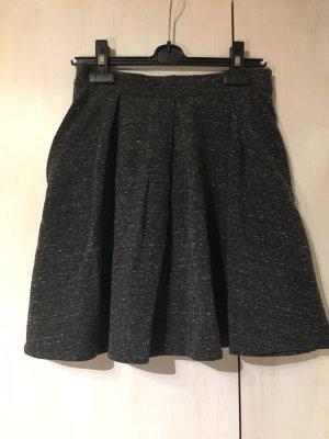 Fräulein Stachelbeere Plaid Skirt black-grey