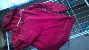 warmer roter kapuzenpulli hoodie gr. s/m