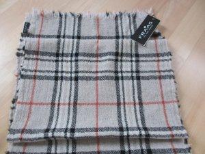 Warmer Schal aus Kaschmir/Wolle von FRAAS - Burberry Muster - neu mit Etikett