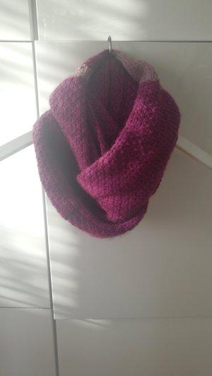 Esprit Sciarpa lavorata a maglia viola-grigio