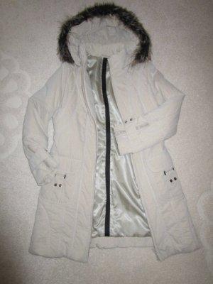 Steilmann Gewatteerde jas licht beige