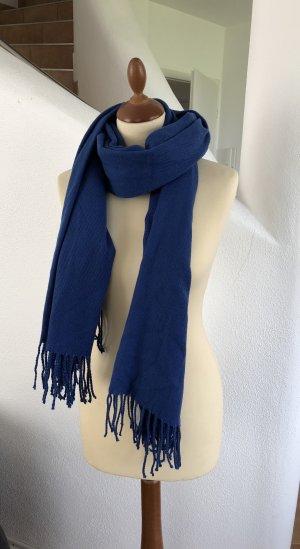 Warmer Web Schal von Vero Moda in einem tollen Blau Neu