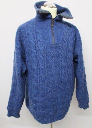 Deerberg Pull torsadé multicolore laine vierge