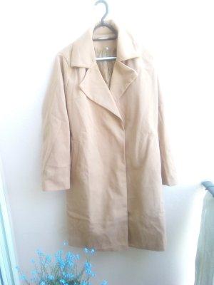 Abito cappotto marrone chiaro