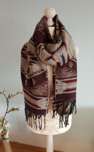 Accessorize Sjaal met franjes veelkleurig